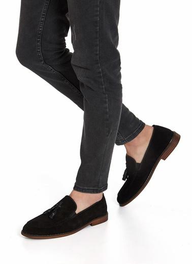 Muggo Hakiki Deri Ayakkabı Siyah